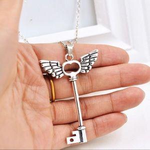 Jewelry - Angel Key Necklace